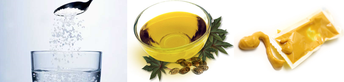 how to drink castor oil without throwing up